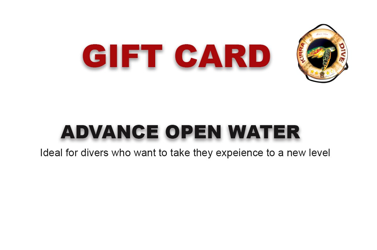 ADVANCE OPEN WATER GIFT CARD