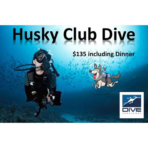 Club Dive and Dinner (11 July)