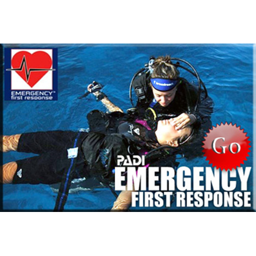 Diving Emergency First Response (CPR, AED, O2 Use)