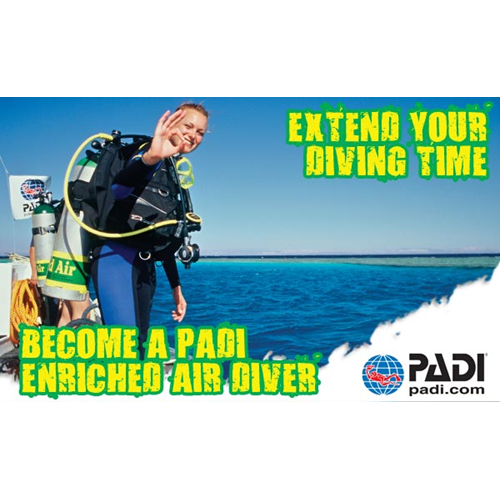 PADI Enriched Air (Nitrox) Diver Course Add-on