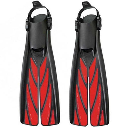 SPLITFINS REEF RED - M