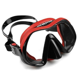 Venom Frameless Mask, Red