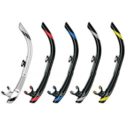 Sv1 Flex Snorkel Black / Red