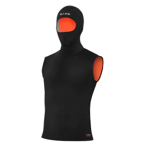 Bare 5/3mm Ultrawarmth Hooded Vest Male ML