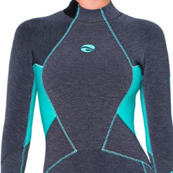 Bare 7mm Evoke Full Suit Womens Aqua