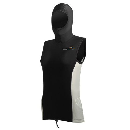 HOODED VEST 5/3 mm FEMALE