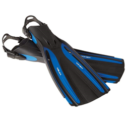 Viper Open Heel Fin Regular - Blue / Black