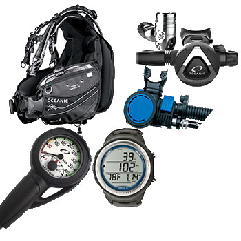 Womens Scuba Package