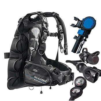Dive Instructors Recomended Package
