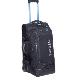 27 Inch Steel Wheeled Bag, Black