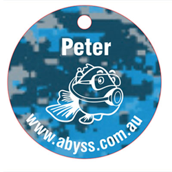 Scuba Equipment Tag Camouflage