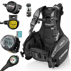 Cressi Starter Scuba Gear Package With Equipment Course
