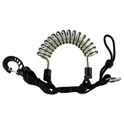 Coiled Lanyard - Black