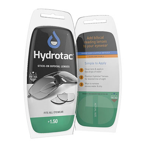 Hydrotac lenses +1.5